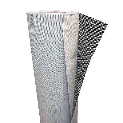 Adesivo Perfurado Rolo 1,37x50 Metros para Impressão
