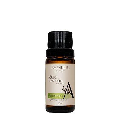 Óleo Essencial de Citronela - 10ml - 100% Natural Selo IBD