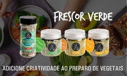 """""""Frescor Verde"""" Vegetais (Mini Banner)"""