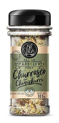 Sal de Parrilla para Churrasco com Chimichurri - 300g