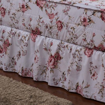 Saia Hug Bedding Queen - Flor do Campo