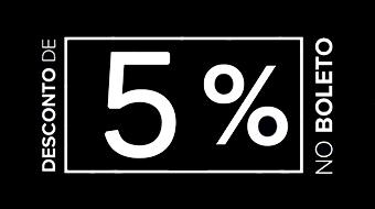5% de desconto no boleto da indusfort