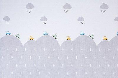 Tapete Infantil Parklon PVC Travelling 190cm x 130cm x 1,2cm