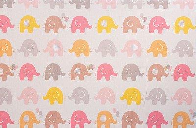 Tapete Infantil Parklon PVC Aerado Elefante 190cm x 130cm x 4cm