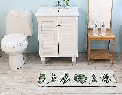 Tapete Multiuso Parklon Premium PVC Botânico 80cm x 44cm x 1,5cm