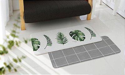 Tapete Multiuso Parklon Premium PVC Botânico 120cm x 44cm x 1,5cm