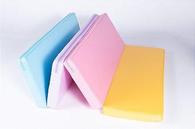 Colchonete de Atividades Parklon 4 Placas Colorido 100cm x 70cm x 4cm