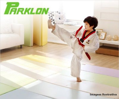 Mini Colchonete de Atividades Parklon 5 Placas Colorido 125cm x 70cm x 4cm