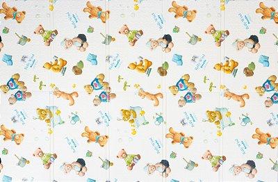 Tapete Infantil TGO Dobrável PE Lolly 200cm x 140cm x 0,8cm