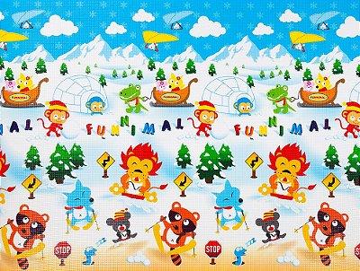Tapete Infantil Proby PE Winterpark 200cm x 150cm x 1,2cm