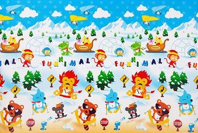 Tapete Infantil Proby PE Winterpark 230cm x 150cm x 2,2cm