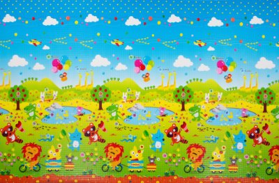 Tapete Infantil Proby PE Fun Animal 270cm x 180cm x 2,2cm
