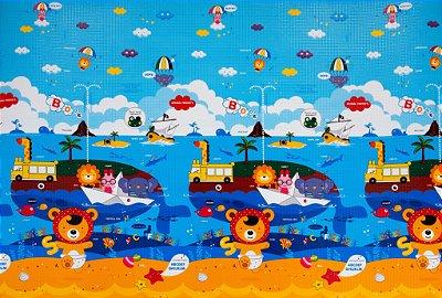 Tapete Infantil Proby PE Animal Friends 270cm x 180cm x 2,2cm