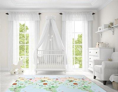 Tapete Infantil Parklon Premium PVC Sunshine 190cm x 130cm x 1,2cm