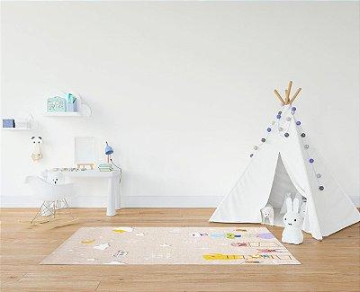 Tapete Dupla Face Infantil Parklon PVC Premium Little Star 100cm x 140cm x 1,2cm
