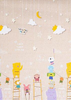 Tapete Infantil Parklon Premium PVC Little Star 100cm x 140cm x 1,2cm