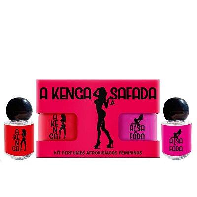 Kit de Perfume Feminino Afrodisíaco (Ativa os Feromônios)