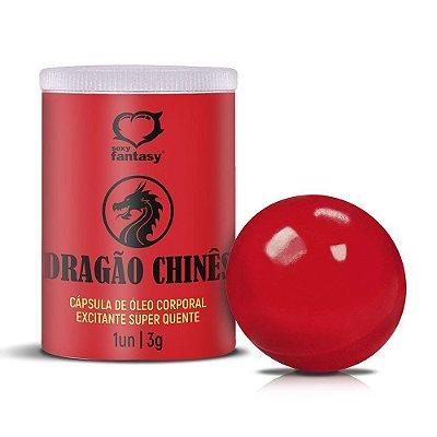Bolinha Dragão Chinês Efeito Excitante + Super Quente 1 Un