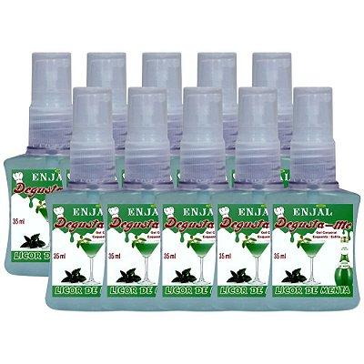 Gel Esquenta & Esfria Licor de Menta - 35 ml - 10 Un