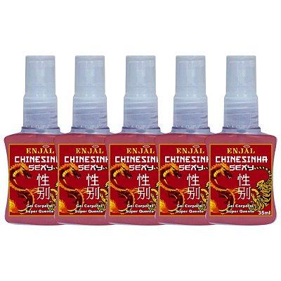 Chinesinha Sexy - Spray Aquecedor - 35 ml - 05 Un