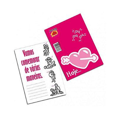 Cartão - Hoje... Vamos Comemorar de Várias Maneiras