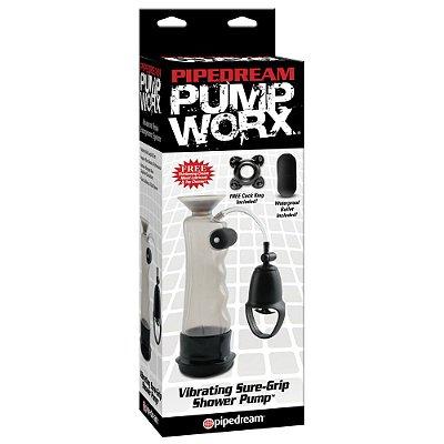 Desenvolvedor Peniano - Pump Worx Vibrating - Leve Grátis 1 Big Boy