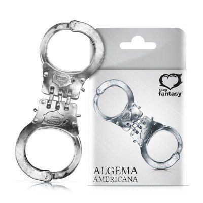 Algemas Americana Reforçadas - Reguláveis Metal
