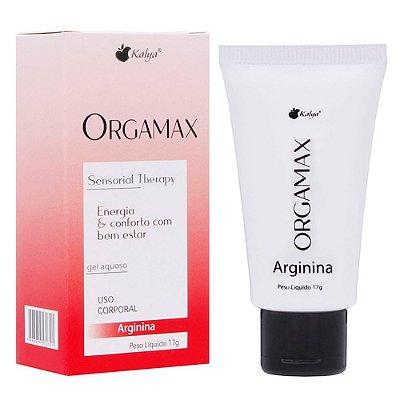 Gel Feminino Excitante Orgamax Arginina Sensibiliza o Clitóris 17g