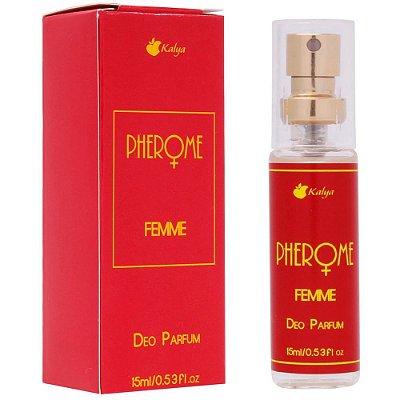 Perfume Afrodisíaco Feminino Pherome Femme 15ml