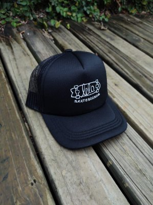Boné Trucker Preto LeloSkateBoards