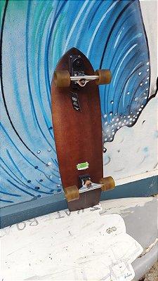 SURFSKATE MODELO LELO 34'' 86,36CM SKATE COM SIMULADOR DE SURF LELOSKATEBOARDS