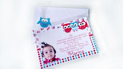 Convite Simples 10x15 cm