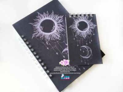 Kit BC - Bloco Simples + Caderno Personalizado