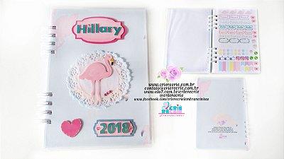Agenda 2019 Capa Dura em Scrapbook