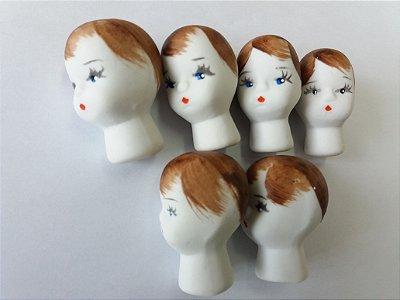 cabeça de porcelana BINA c/10 unds