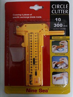 cortador Compasso até 30cm circunferência
