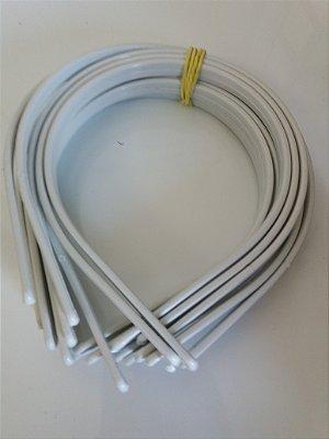 12 unds Tiaras de plástico 10mm lisa para encapar