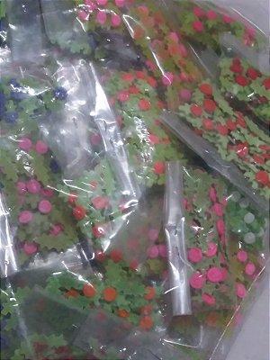 50 pacotes de florzinha de biscuit peq