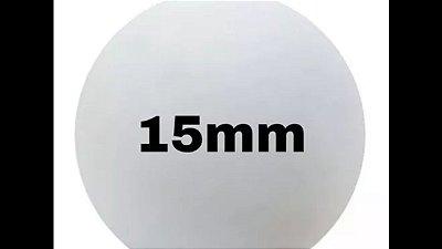 Bola de isopor 15 mm c/200 unds.
