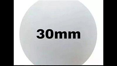 Bola de isopor 30 mm c/100 unds.