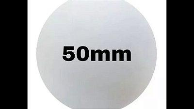 Bola de isopor 50 mm c/30  unds.