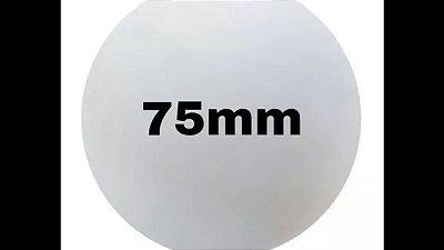 Bola de isopor 75 mm c/25 unds.