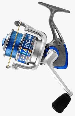 Molinete de Pesca Canário Tamanho Grande 6000 - Albatroz Fishing