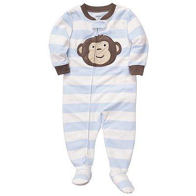 Pijama Carter's 1 Peça Macaco