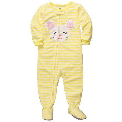 Pijama Carter's 1 Peça Ratinha