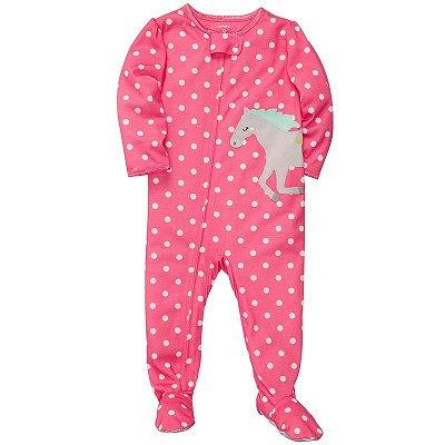 Pijama Carter's Cavalinho Rosa
