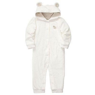 Macacão Carter's Jumpsuit Branco
