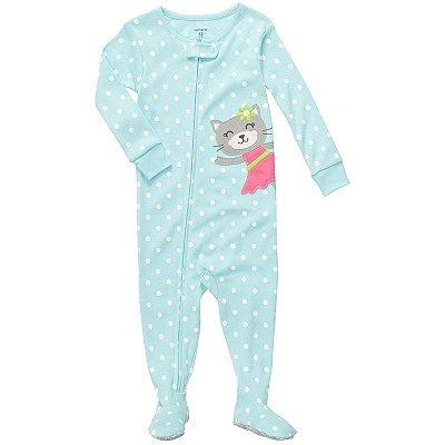 Pijama Carter's Gatinha Azul