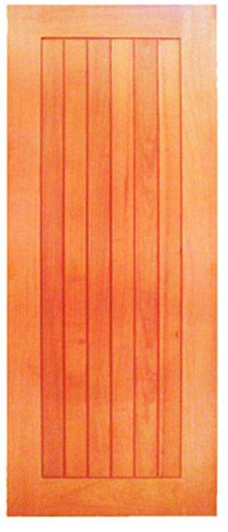 Folha de Porta de Abrir (Giro) em Madeira Cedro Arana Maciça Mexicana Munique - Casmavi