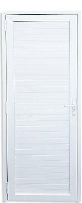 Porta PVC Branco Palheta Sem Vidro - Brimak iTEC